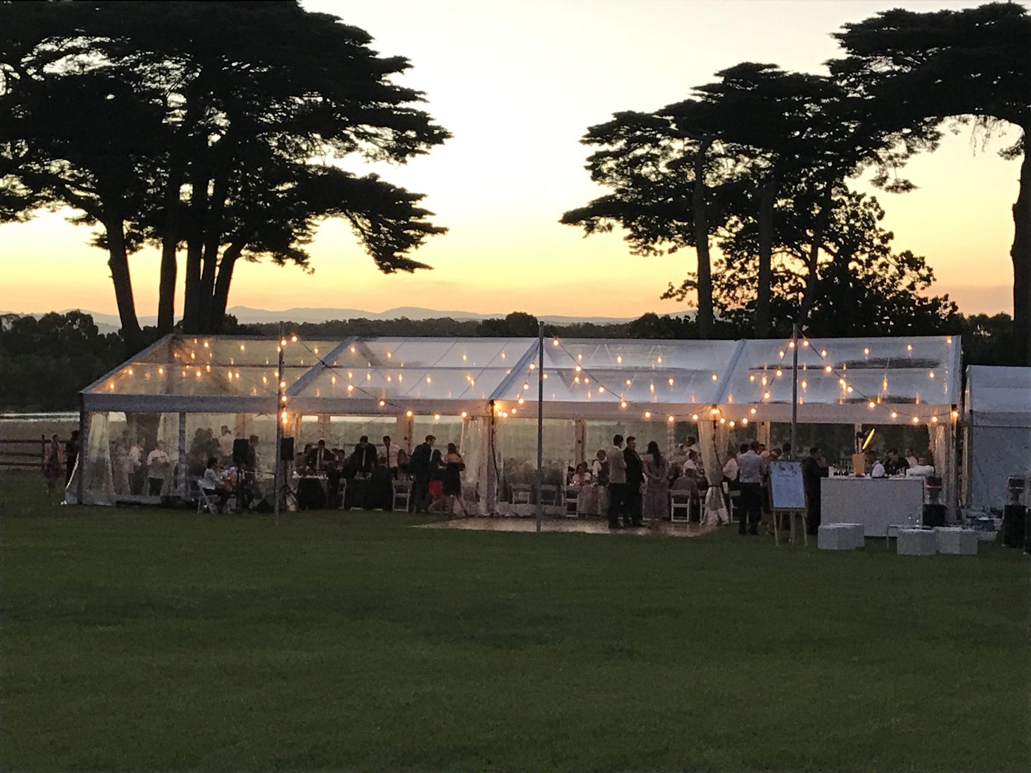 Wedding Reception Venues Pyrenees Garden Outdoor